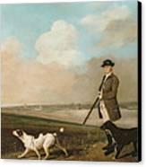 Sir John Nelthorpe Canvas Print by George Stubbs