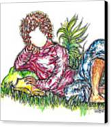 Sir Sage Canvas Print