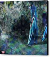 Sisters Of Fate Canvas Print