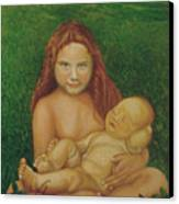 Sisters Of Mine Canvas Print