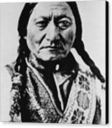 Sitting Bull 1831-1890 Lakota Sioux Canvas Print by Everett