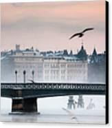 Skeppsholmsbron, Stockholm Canvas Print by Hannes Runelöf