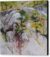 Sketch For Ogwen Painting Canvas Print