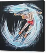 Ski Bum Canvas Print