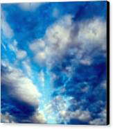 sky Canvas Print by Niki Mastromonaco