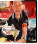 Skyey At The Far Bar Canvas Print