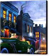 Sleeping City Canvas Print by Joel Payne