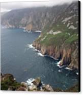 Slieve League Cliffs Canvas Print by John Quinn