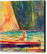 Slight Breeze I Canvas Print