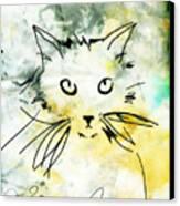 Slim Canvas Print by Ann Powell