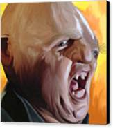 Sloth From Goonies Canvas Print by Brett Hardin