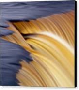Slow Motion Waterfall Canvas Print by Romeo Koitmae