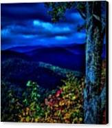 Smokey Mountain Still Life Canvas Print by William Jones