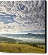 Smokies Cloudscape Canvas Print by Andrew Soundarajan