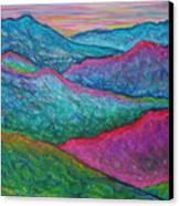 Smoky Mountain Abstract Canvas Print