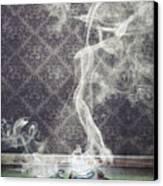 Smoky Shoes Canvas Print