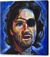 Snake Plissken Canvas Print by Buffalo Bonker