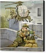 Sniper Military Tribute Canvas Print