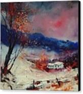 Snow 569020 Canvas Print
