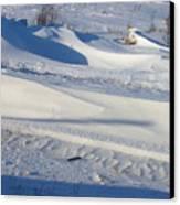 Snow Drift Canvas Print