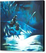 Snowee Canvas Print