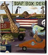 Soap Box Derby Canvas Print