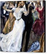 Society Ball, C1900 Canvas Print by Granger