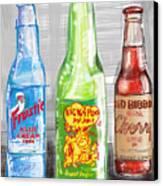 Soda Pops Canvas Print