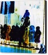 Soho Shop Window Canvas Print by Karin Kohlmeier