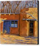 Sol Y Sombre Canvas Print by Ann Peck