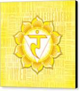 Solar Plexus Chakra - Awareness Canvas Print