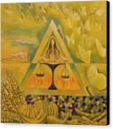 Solar Plexus Canvas Print by Manami Lingerfelt