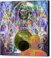Solar Plexus Spirit Canvas Print by Joseph Mosley