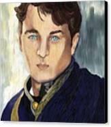 Soldier Blue Canvas Print by Sydne Archambault