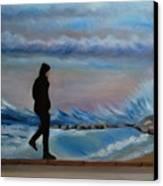 Solitude Canvas Print by Kostas Koutsoukanidis