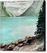 Solitude Of The Lake Canvas Print