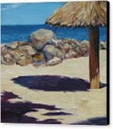 Solo Palapa Canvas Print
