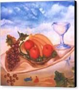 Solomon Breackfast Canvas Print