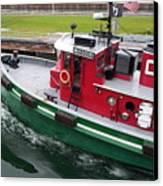 Soo Tug Boat Canvas Print