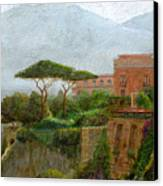 Sorrento Albergo Canvas Print by Trevor Neal