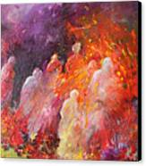 Souls In Hell Canvas Print