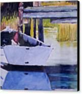 Sound Side Dock Canvas Print