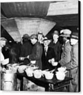 Soup Kitchen, 1931 Canvas Print by Granger