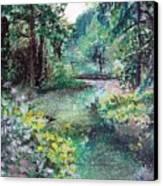 Sous-bois Canvas Print