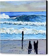 South Beach. Canvas Print