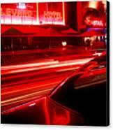South Beach Red Canvas Print
