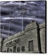 South End Soldier Field Canvas Print by David Bearden