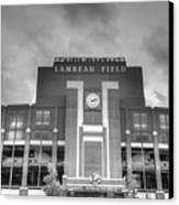 South End Zone Lambeau Field Canvas Print