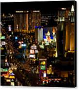 South Las Vegas Strip Canvas Print by James Marvin Phelps