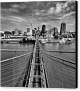 South Tower Canvas Print by Russell Todd